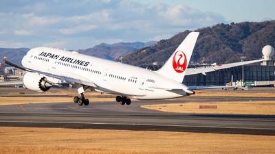 A picture of JA849J - Boeing 7878 Dreamliner - Japan Airlines - © LUSU