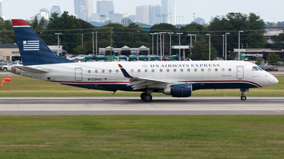 N129HQ - Embraer 170-200LR - US Airways Express (Republic Airlines)