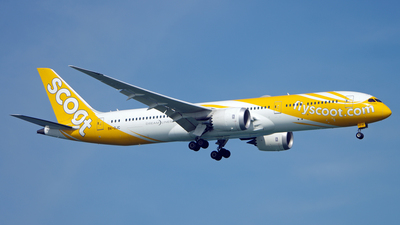 9V-OJC - Boeing 787-9 Dreamliner - Scoot