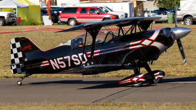 N57SD - Aviat S-2C Pitts Special - Private
