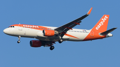 OE-INH - Airbus A320-214 - easyJet Europe