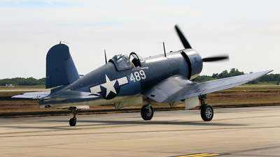 NX209TW - Goodyear FG-1D Corsair - Private