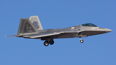 09-4176 - Lockheed Martin F-22A Raptor - United States - US Air Force (USAF)