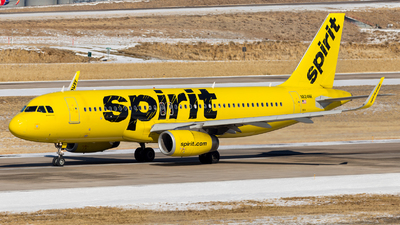 A picture of N624NK - Airbus A320232 - Spirit Airlines - © HA-KLS