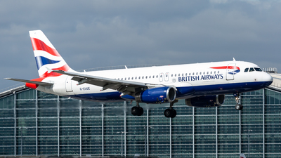 A picture of GEUUE - Airbus A320232 - British Airways - © Leo Sheng