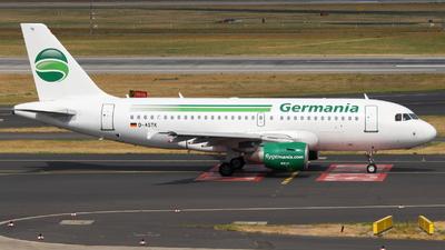 D-ASTK - Airbus A319-112 - Germania