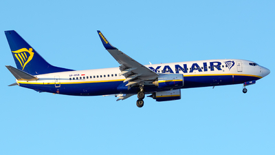 A picture of SPRSB - Boeing 7378AS - Ryanair - © Laszlo Fekete