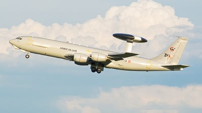 202 - Boeing E-3F Sentry - France - Air Force