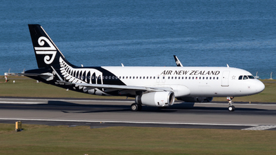 A picture of ZKOXB - Airbus A320232 - Air New Zealand - © Jack Walker