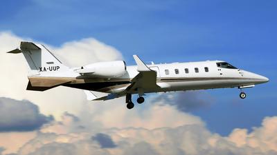 XA-UUP - Bombardier Learjet 60 - Private