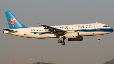 A picture of B9917 - Airbus A320232 - China Southern Airlines - © wingsofchina
