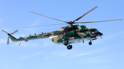 RF-20458 - Mil Mi-8AMTSh Hip - Russia - Air Force