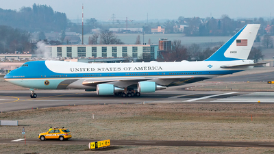 92-9000 - Boeing VC-25A - United States - US Air Force (USAF)