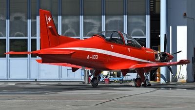 A-103 - Pilatus PC-21 - Switzerland - Air Force
