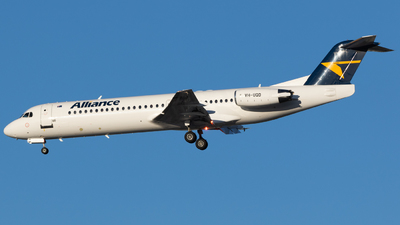 VH-UQD - Fokker 100 - Alliance Airlines