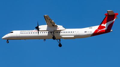 A picture of VHQOI - De Havilland Canada Dash 8400 - QantasLink - © Brandon Giacomin