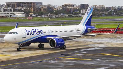 A picture of VTIJV - Airbus A320271N - IndiGo - © Janam Parikh