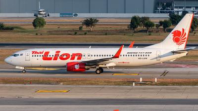 A picture of HSLUW - Boeing 7378GP - Thai Lion Air - © Taweesak