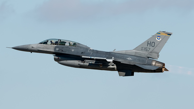 89-2157 - General Dynamics F-16D Fighting Falcon - United States - US Air Force (USAF)