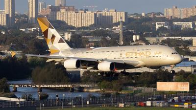 A6-APE - Airbus A380-861 - Etihad Airways