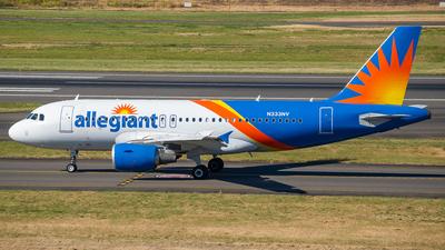 A picture of N333NV - Airbus A319111 - Allegiant Air - © Ricardo Mungarro - MAS Aviation Press