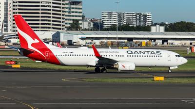 A picture of VHVYJ - Boeing 737838 - Qantas - © Vincent Borisovich Zhao