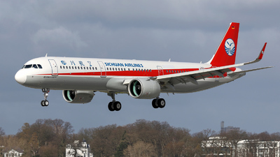 D-AVYT - Airbus A321-271N - Sichuan Airlines
