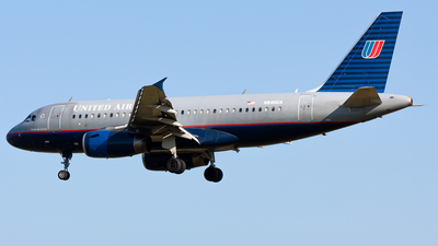 N840UA - Airbus A319-131 - United Airlines