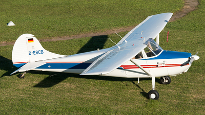 D-ESCB - Cessna 170B - Private