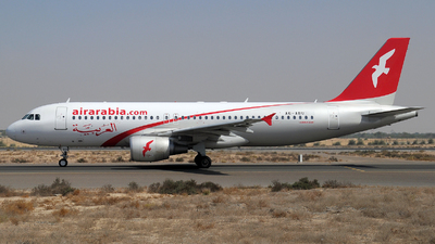 A6-ABU - Airbus A320-214 - Air Arabia