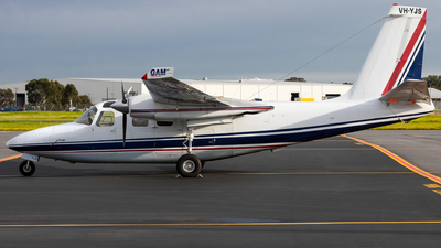 A picture of VHYJS - Aero Commander 500S - [3315] - © Clayton Ferguson