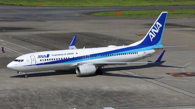 A picture of JA79AN - Boeing 737881 - All Nippon Airways - © kouyagi