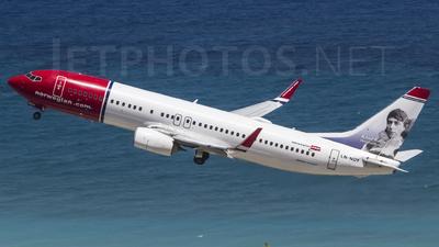LN-NOY - Boeing 737-8JP - Norwegian