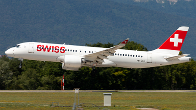 A picture of HBJCD - Airbus A220300 - Swiss - © Alexandre Faroux