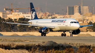 EP-TTA - Airbus A320-231 - Iran Air Tours
