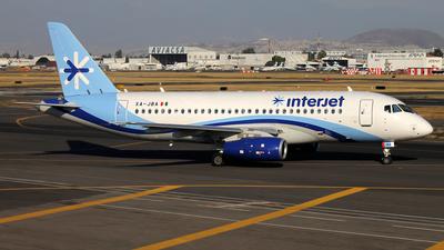 XA-JBA - Sukhoi Superjet 100-95B - Interjet