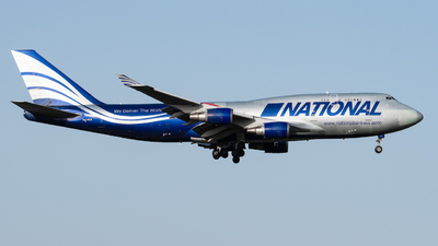 A picture of N919CA - Boeing 747428(BCF) - National Airlines - © Yuto Kiuchi