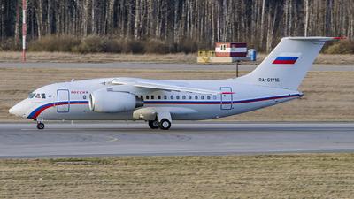 RA-61716 - Antonov An-148-100EA - Rossiya - Special Flight Squadron