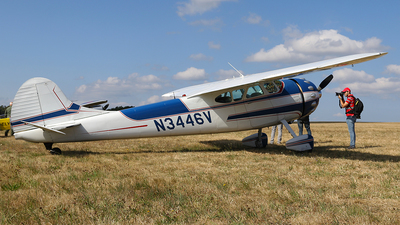 N3446V - Cessna 195A - Private