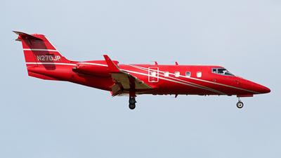 A picture of N270JP - Learjet 55 - [55078] - © toyo_69pr