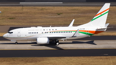 5U-GRN - Boeing 737-75U(BBJ) - Niger - Government