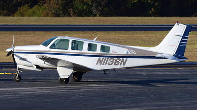 A picture of N1136N - Beech A36 Bonanza - [E3053] - © Agustin Anaya