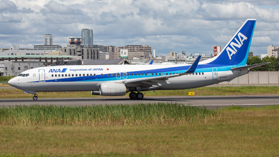 JA81AN - Boeing 737-881 - All Nippon Airways (ANA)