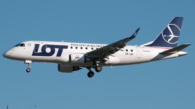 SP-LDI - Embraer 170-100LR - LOT Polish Airlines