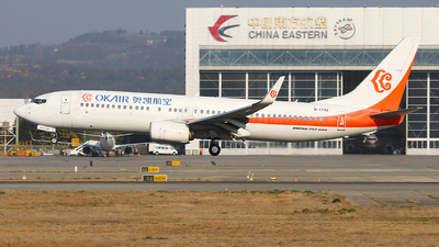 B-1732 - Boeing 737-86N - OK Air