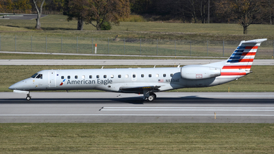 A picture of N833AE - Embraer ERJ140LR - American Airlines - © DJ Reed - OPShots Photo Team