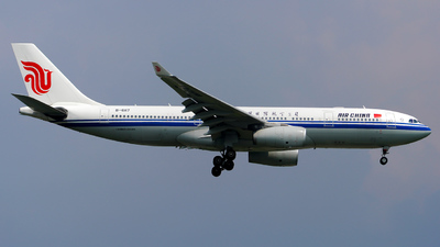 A picture of B6117 - Airbus A330243 - Air China - © SHACC