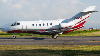 N800CL - Hawker Beechcraft 850XP - Private