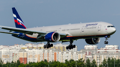 VQ-BQM - Boeing 777-3M0ER - Aeroflot