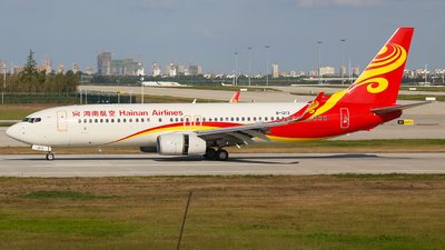 A picture of B1213 - Boeing 73784P - Hainan Airlines - © SEN BAI